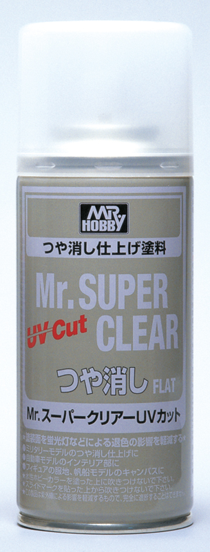 MR.SUPER CLEAR UV CUT FLAT