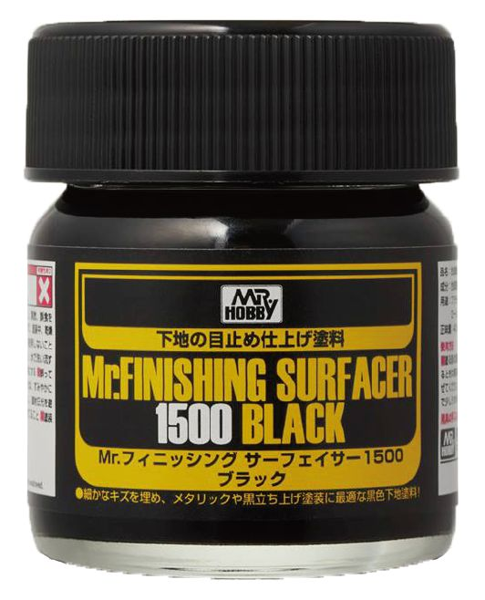 MR. FINISHING SURFACER 1500 BLACK