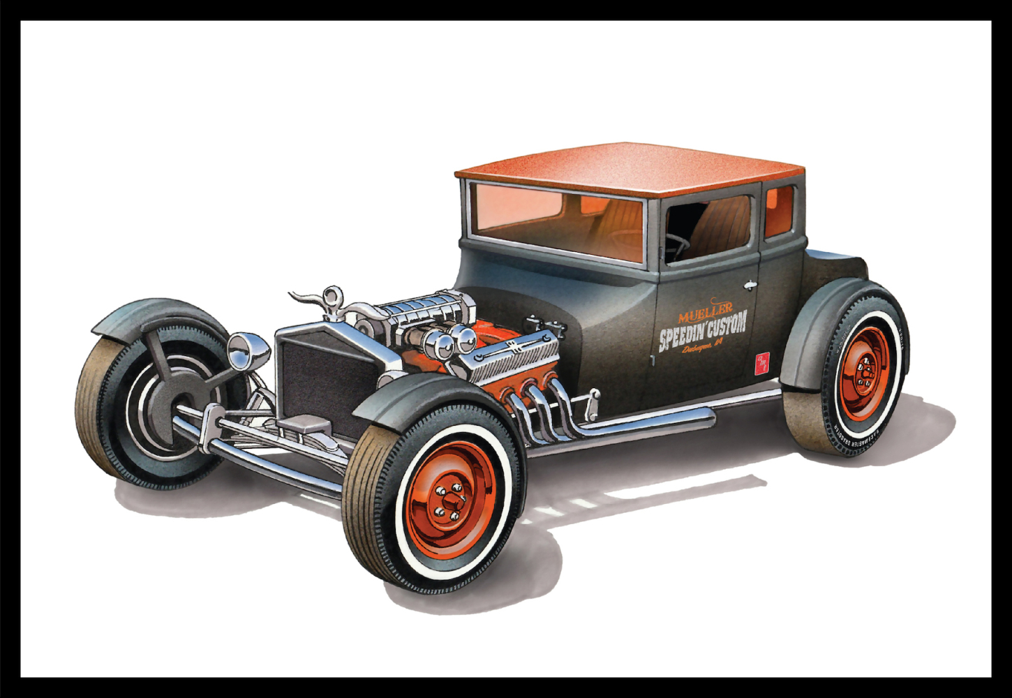 1925 Ford T Chopped