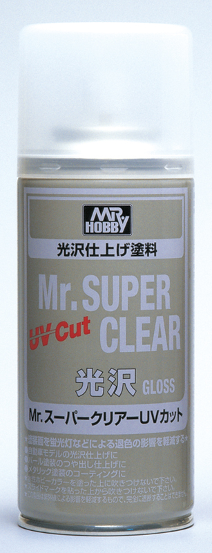 MR.SUPER CLEAR UV CUT GLOSS