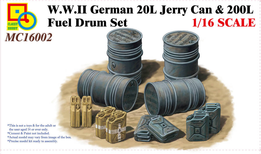Jerry Can & Fuel Drum Set