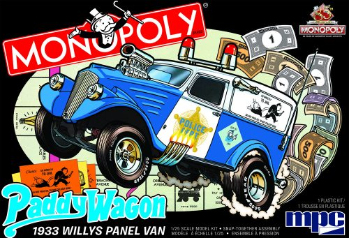 1933 Willys Panel Paddy Wagon (Monopoly)