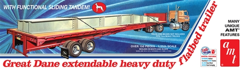 Great Dane Extendable Flat Bed Trailer