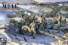 WWII Late Version 105mm Howitzer M2A1 & Carriage M2A2