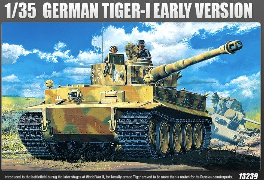 German Tiger-I Early Version With Full Internal Detail