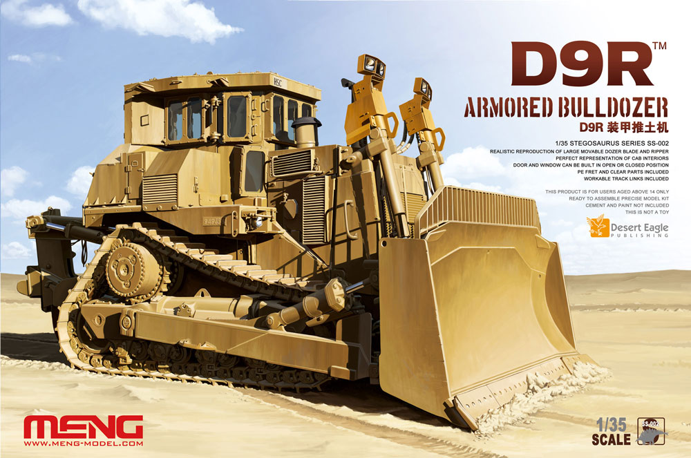 D9R ARMORED BULLDOZER
