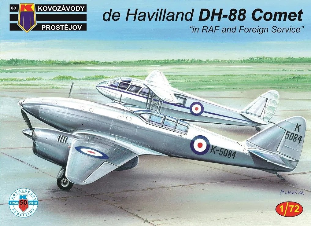 "DH-88 Comet ""in RAF and Foreign Service"""