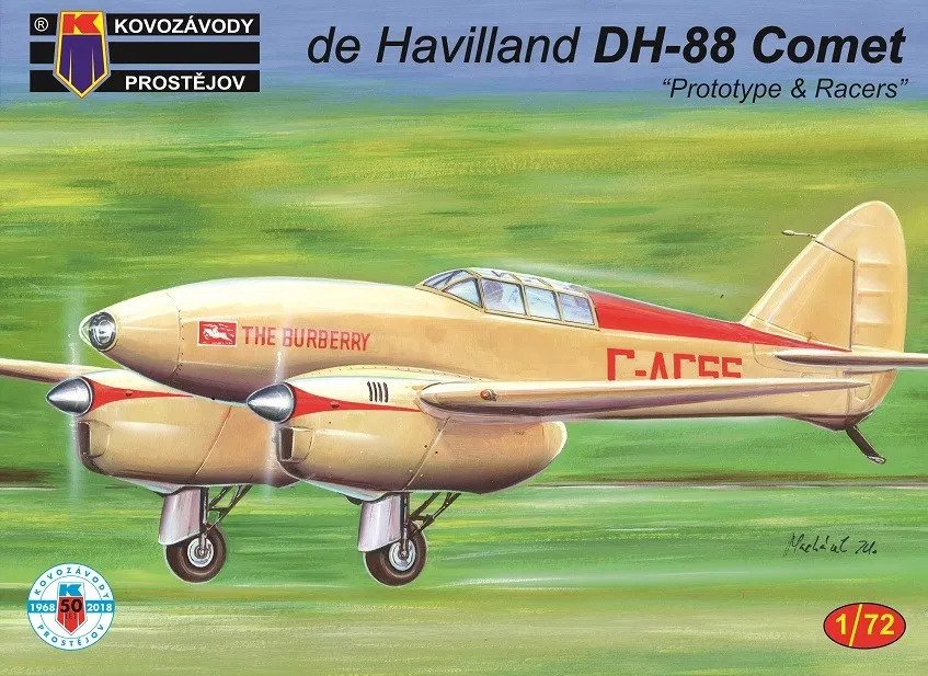 DH-88 Comet Prototype and Racers