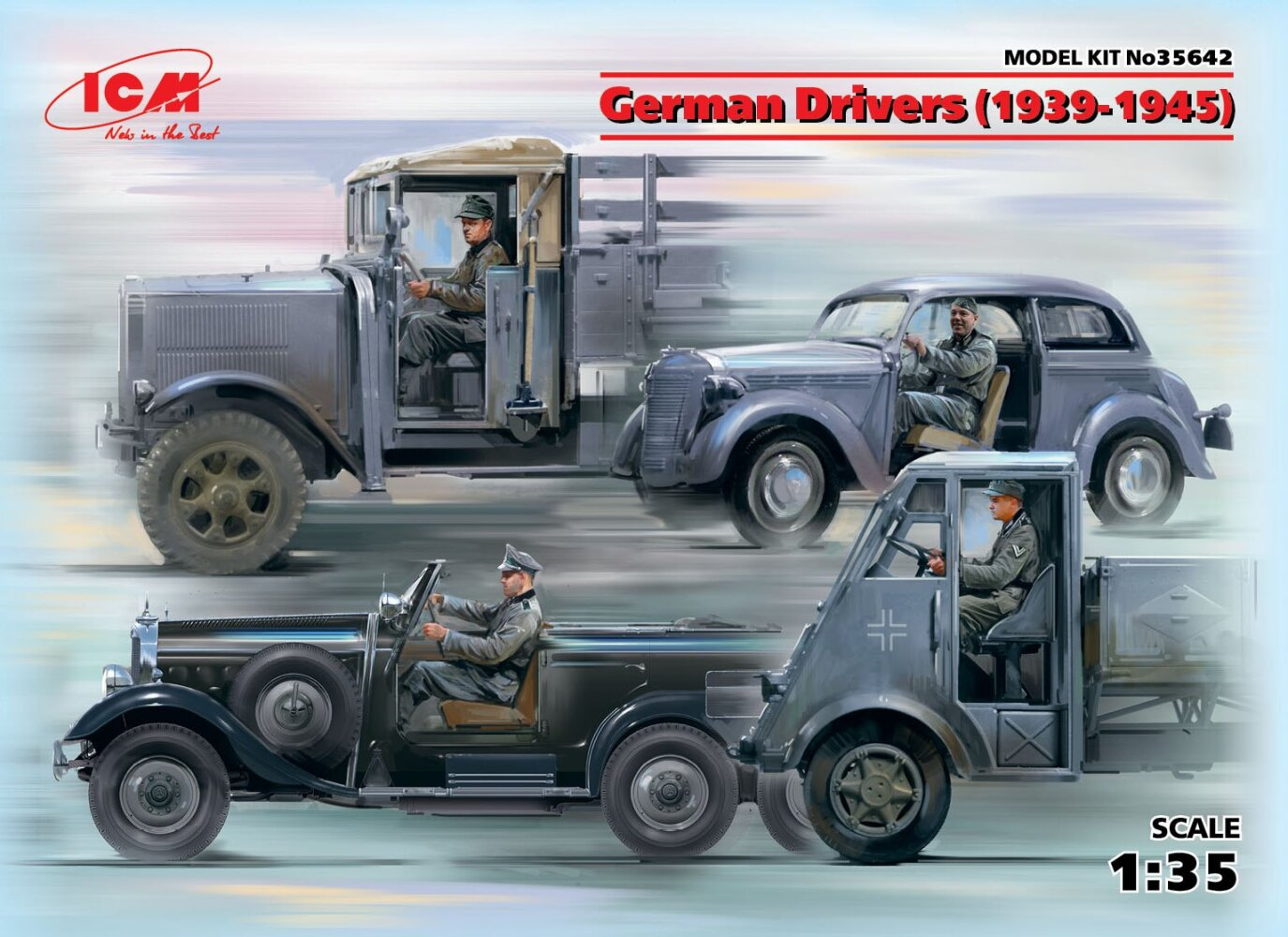 German Drivers (1939-1945) (4 figures)