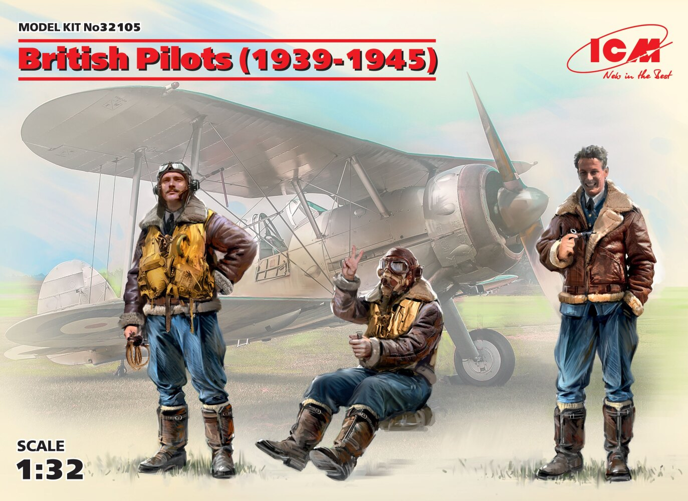 British Pilots (1939-1945) (3 figures)