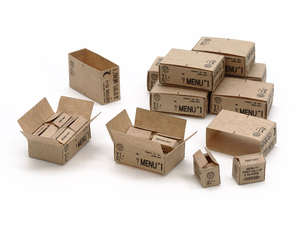 U.S. 10-in-1 Ration Cartons