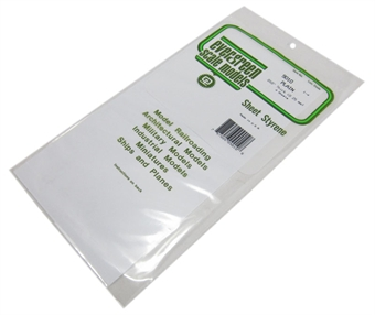 "9010 12"" x 6"" Sheets .010"" thickness 3 per pack"