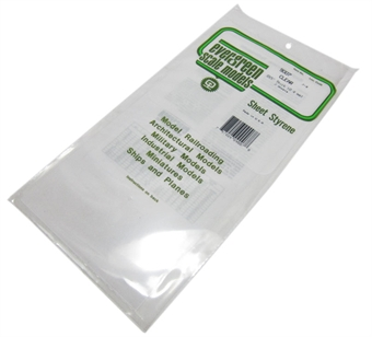 "9007 12"" x 6"" Clear sheets .015"" thickness 2 per pack"