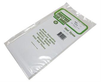 "9020 12"" x 6"" Sheets .020"" thickness 3 per pack"