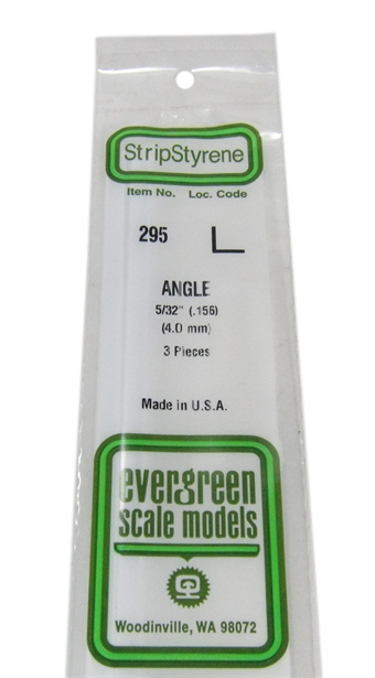 "295 5/32"" Right angle section 3 per pack"