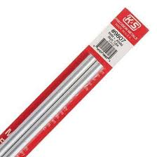 Round Aluminium Tube 8mmx300mm, pack of 2