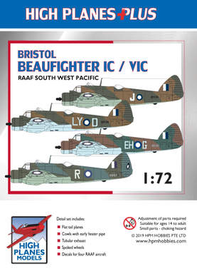 "Bristol Beaufighter IC / VIC ""RAAF South West Pacific"""