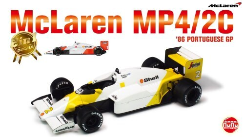 MP4/2C GP Portugal 1986