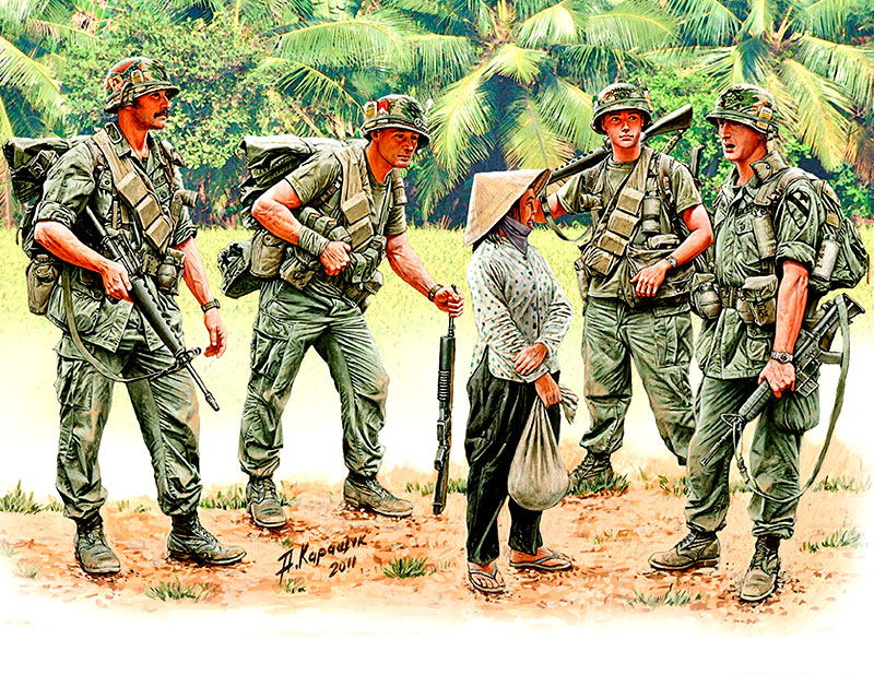 Vietnam War Patroling