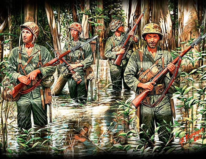 Vietnam War US Marines