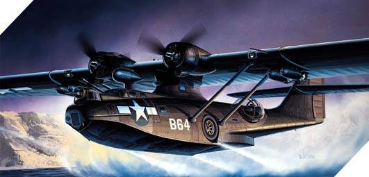 PBY-5A Black Cat Catalina