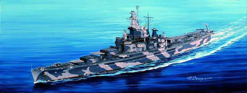 USS Alabama  BB-60