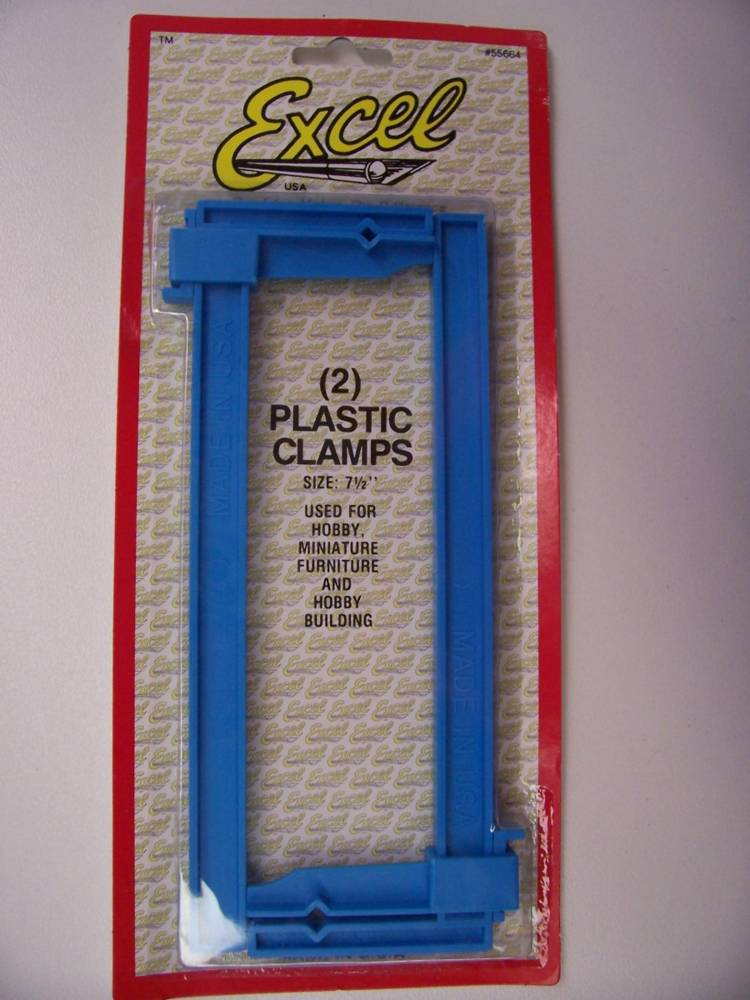 Plastic Clamp Set Large