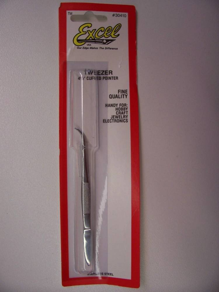 Curved Point Tweezer Small
