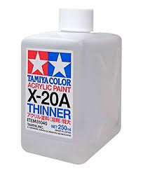 X-20A ACRYLIC PAINT THINNER