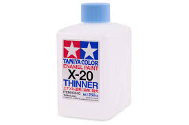X-20 ENAMEL PAINT THINNER