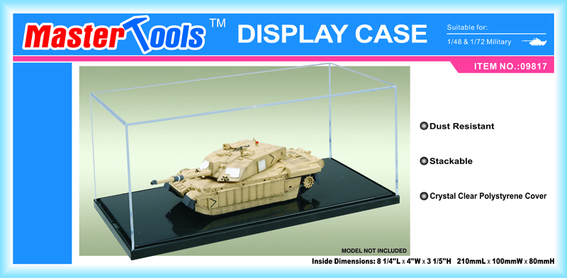 Display Case 210 x 100 x 80 mm
