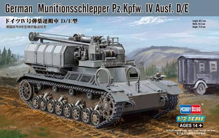 German Munitionsschlepper