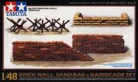 Brick Wall, Sand Bag & Barricade Set
