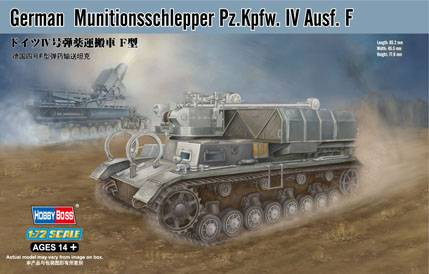 German Munitionsschlepper Ausf.F