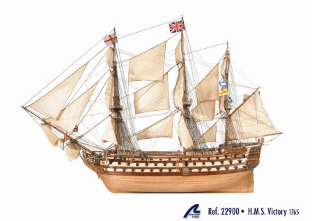 HMS VICTORY Wooden Ship Kit