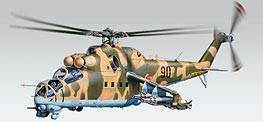 MiL-24 Hind Helicopter