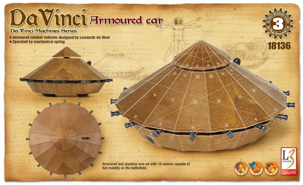 Da Vinci Armoured Car