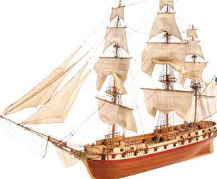 USS Constellation   American Frigate 1798 Wooden Ship Kit