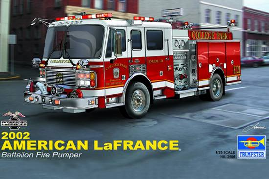 American LA FRANCE Eagle Fire Pumper