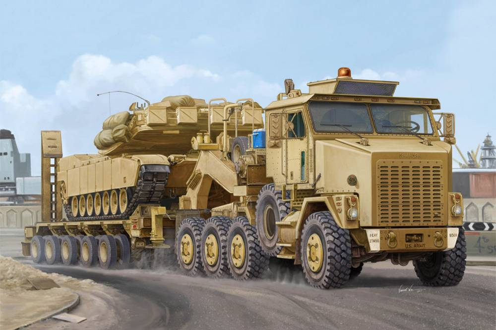 M1070 Truck Tractor & M1000 HET from Hobby Boss Semi-trailer