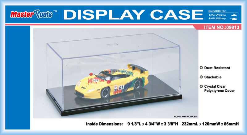 Display Case  232 x120 x 86 mm