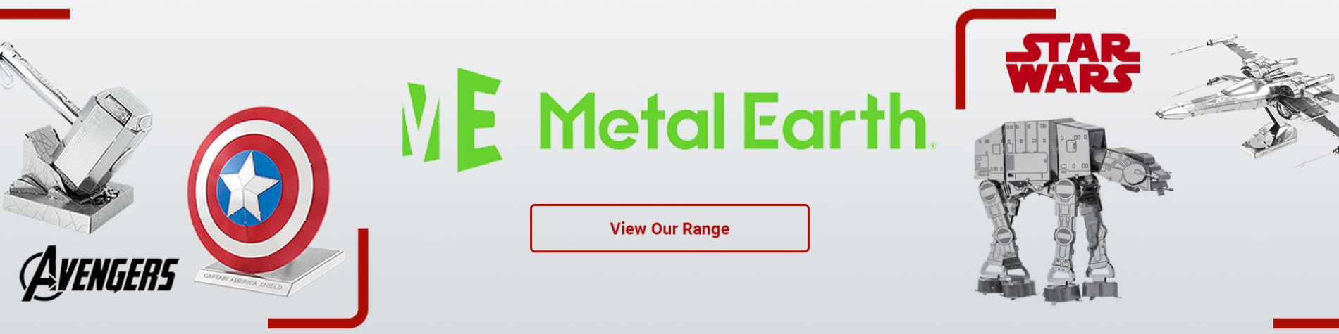 view our range of Metal Earth models